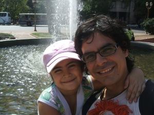 Dana Y Papá,  Siempre Juntos !